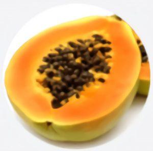 Papaină din extract de papaya